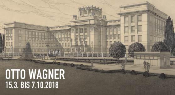Otto Wagner, Präsentationsblatt zur Stadtbahn, 1898 © Wien Museum