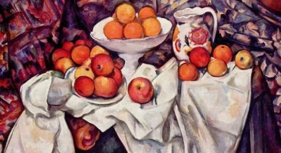 Cezanne Paul - Cezanne, Impressionismus 1839 - 1906. Äpfel und Orangen. Musée du Louvre, Paris Motivformat: 48,6 x 61,5 cm (HxB). Bildmatertial: reisserbilder.at