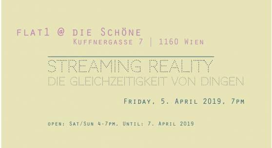 Streaming Reality Die Gleichzeitigkeit von Dingen