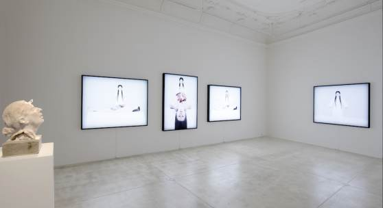 """""""We can have so many hearts inside ourselves. In my lifetime, I have discovered two hearts. This show is about my reflections on duality, the power of female energy, and temporality."""" Marina Abramović"""