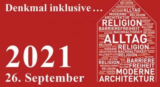 Tag des Denkmals am 26. september