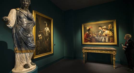 LOAN EXHIBITION GALLERIA BORGHESE - TEFAF MAASTRICHT  PHOTOGRAPHY BY HARRY HEUTS