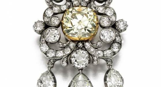 The 'Banks diamond' pendant/brooch, late 18th century and later  Estimate:  40,000 - 60,000 GBP