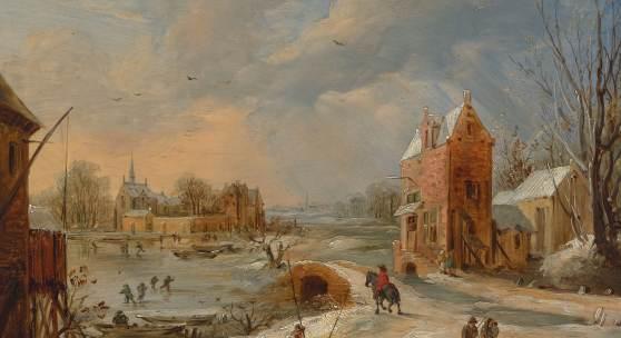 rans de Momper (1603-1660) Winterlandschaft, um 1640 Innsbruck, Tiroler Landesmuseum Ferdinandeum, Ältere Kunstgeschichtliche Sammlungen, Inv.Nr. Gem 732 Foto: Tiroler Landesmuseen