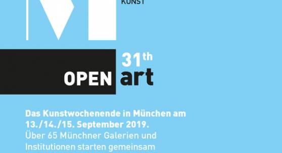 OPEN ART Galerienwochenende in München