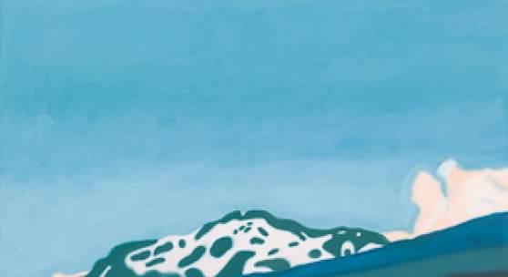 #3 Andrea Holzinger Gilfert, Acryl auf Leinwand, 60 x 60 cm, signiert, datiert und betitelt, 2000 Rufpreis € 500