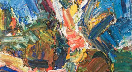 Franz Grabmayr, Wurzel, Öl auf Leinwand, 100 x 80 cm, 1973, Rufpreis € 8.000