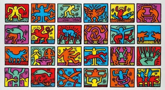 Keith Haring Verkauft um € 63.000