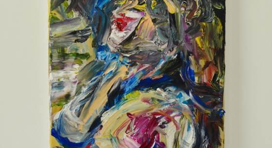 o.T., 2021, Öl auf Leinwand, 50 x 60 cm, André d´Orcay
