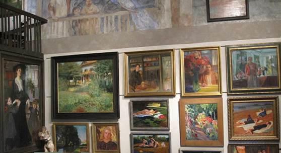 Großes Atelier, Künstlerhaus Exter mit Garten – Übersee-Feldwies