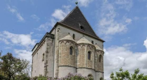 Die Doppelkapelle St. Crucis in Landsberg * Foto: Jens Schulze