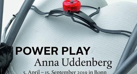 Plakat: POWER PLAY Anna Uddenberg