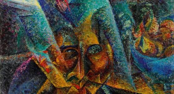 Umberto Boccioni, Testa + luce + ambiente, oil on canvas, 1912 (est. £5,500,000-7,500,000)