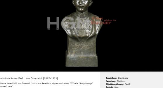 Die Objektdatenbank des HGM ist online!
