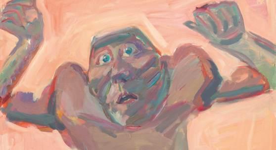 Maria Lassnig * (Kappel am Krappfeld/Kärnten 1919 - 2014 Wien)  Herbstbild / Herbst, 1983 Öl auf Leinwand; gerahmt; 111,5 × 81 cm Meistbot € 300.000 (ohne Aufgeld)