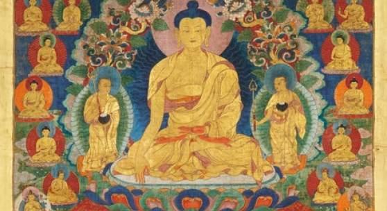 Thangka aus Tibet, dessen unterer Schätzpreis von 5.500 Euro mit einem Ergebnis von 61.440 Euro