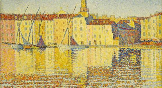 Paul Signac   Maisons du port, Saint-Tropez Signed P. Signac and dated 92(lower right); Inscribed Op. 237 (lower left) oil on canvas18 ¼ x 21 ¾ in.; 56.5 x 55.3 cm Painted in 1892. Est. $8/12 million