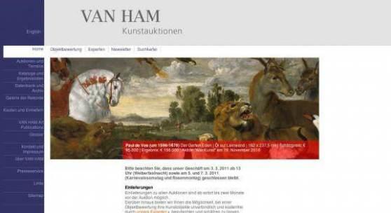 VAN-HAM Kunstauktion