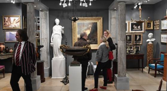 Kunst&Antiquitäten München 2019, Foto: Marcus Schlaf