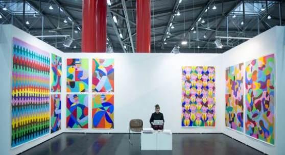 VIENNAFAIR The New Contemporary Andreas Mailath-Pokorny (Vienna Councillor for Culture and Science / Kulturstadtrat), Christina Steinbrecher-Ptandt, Vita Zaman © VIENNAFAIR / Alexander Schwarzinger