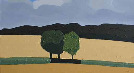 Ralph Fleck, Wintertag 28/VIII, 2011, Öl auf Leinwand, 200 x 160 cm
