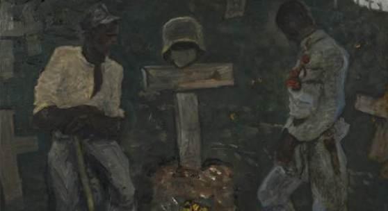 WALDE, Alfons 1891-1958 Zur Blütezeit 1917 Auktion 54, Mai 2012   € 30.000 – 60.000 Öl auf Karton 67,5 x 74,4 cm