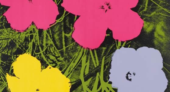 Andy Warhol (1928 – 1987)  Flowers   1970   Serie von 10 Farbserigrafien auf festem Papier   Jeweils: 91,5 x 91,5 cm Taxe: 800.000 – 1 Mio. €