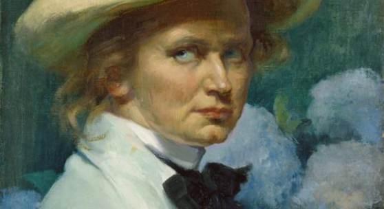 Ottilie W. Roederstein, Selbstbildnis mit weißem Hut, 1904, Städel Museum, Frankfurt am Main, Foto: Städel Museum