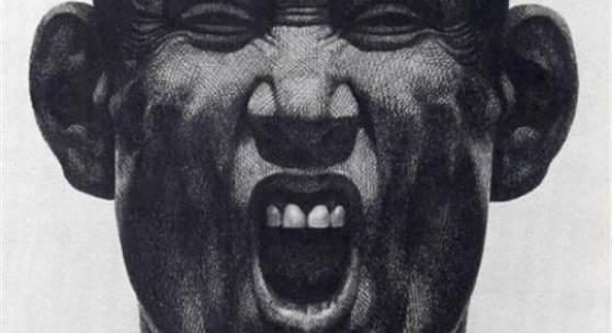 Florentina Pakosta, Scream I, 1982 © VBK, Wien, 2010