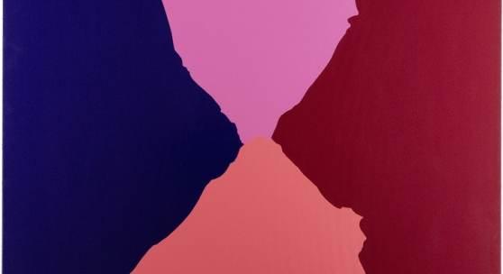 Andreas Reiter Raabe, 2014 Acryl, Lack auf Leinwand 190 × 170 cm (74,8 × 66,9 in)