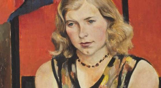 Abb.: Willy Jaeckel, Mädchenbildnis (Synnie), um 1933, Öl auf Leinwand, Bröhan-Museum, Berlin, Foto: Martin Adam, Berlin
