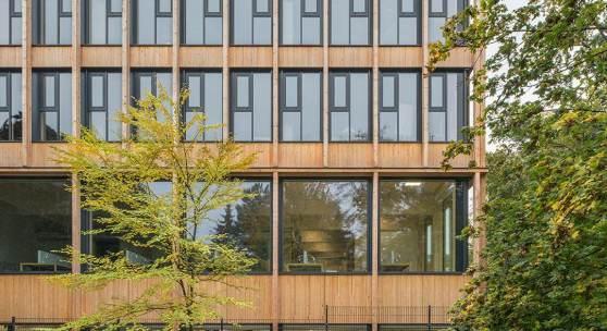 Holzneubau, Universität für Bodenkultur, Wien – SWAP-Architekten © Hertha Hurnaus