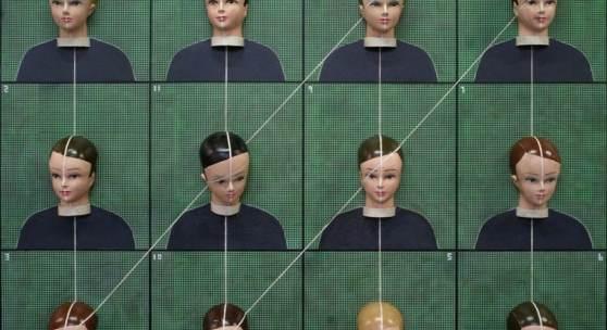 Thomas Zipp / A.O.: RECTANGLE / 2019 / 180 x 200 cm / Acryl, Öl, Holz und Gummi auf Leinwand