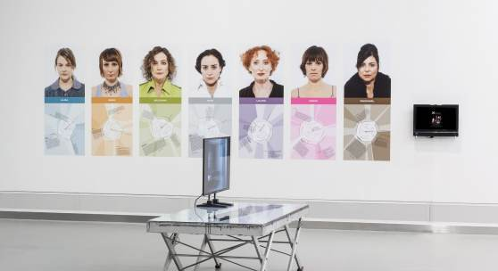 Bildlegende: Blick in die Ausstellung, Foto: Christoph Fuchs
