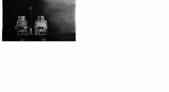 © Stefanie Holler, Zucker und Pfeffer, Kohlezeichnung 150 x 250 cm