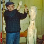 GoliathF Skulptur von Matthias Schaffer