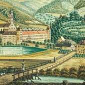 Gouache um 1840, unbekannter Künstler (c) stift-lilienfeld.at