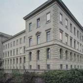 Südwestflügel des Hauptgebäudes der ETH Zürich