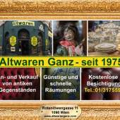Altwaren & Antiquitäten Ganz (c) altwarenganz.com
