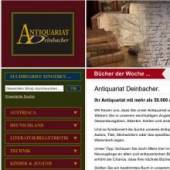 Unternehmenslogo Antiquariat Deinbacher