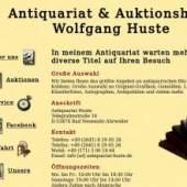 Unternehmenslogo Antiquariat & Auktionshaus Wolfgang Huste