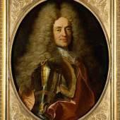 Hyazinthe Rigaud, Bildnis Herzog Anton Ulrich, vor 1704, Leinwand, Inv. GG 528 8