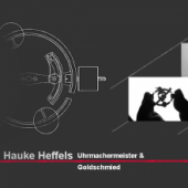 Unternehmenslogo Uhrmachermeister & Goldschmied Hauke Norbert Heffels