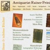 Unternehmenslogo Antiquariat Rainer F. Meyer