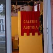 Eingang der galerie austria in Kalksburg