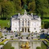 Schloss Linderhof  © Bayerische Schlösserverwaltung www.linderhof.de