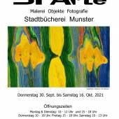 22. SFArte Ausstellung im Stadtbücherei Munster DE.