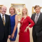 v.l.n.r.:Horst u. Brigitte Szaal,  Mag. Gerlinde und Wolfgang Szaal
