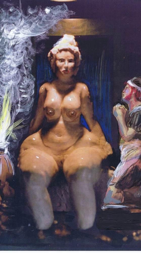 Göttin Venus.
