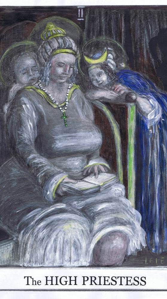 Die Hohe Priesterin